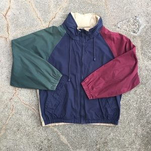 Vintage 90's Nautica Color-Block Jacket